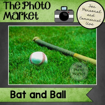 Photo: Baseball Bat and Ball