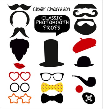 Photo Booth Props Drama Props - Classic