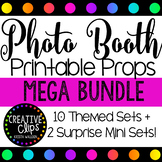 Photo Booth Props MEGA BUNDLE {Made by Creative Clips Clipart}