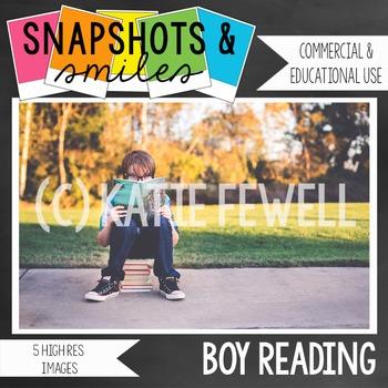 Photo: Boy Reading: 5 Images