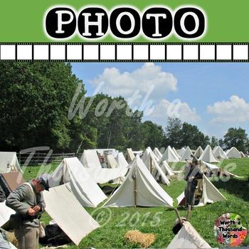 Photo: Civil War - Encampment