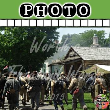 Photo: Civil War - March Through Town