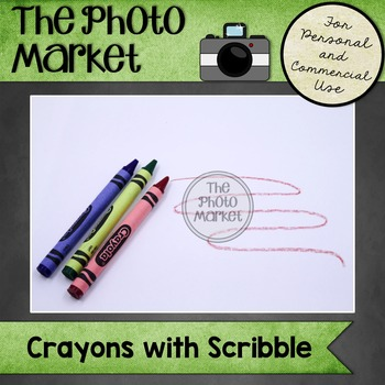 Photo: Crayons with Scribble