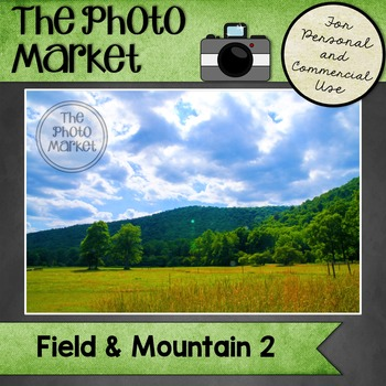Photo: Field and Mountain 2