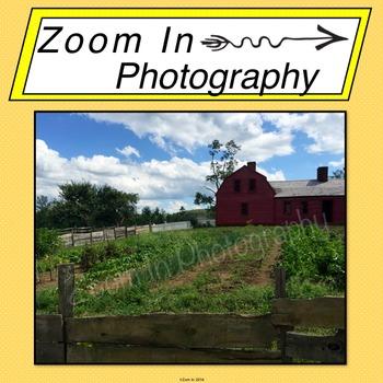 Stock Photo: Pioneer Revolutionary War Period Farm (a)