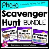 Photo Scavenger Hunt for Staff! Complete Bundle for Princi