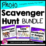 Photo Scavenger Hunt for Staff! Complete Bundle for Princi
