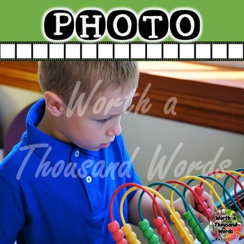 Photo: Student and Abacus