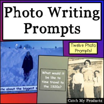 Photo Writing Prompts for Promethean Board