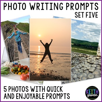 Photo Writing Prompts Set 5: Quick & Fun Prompts About 5 Photos