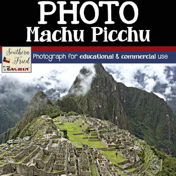Photo for Educational and Commercial Use: Machu Picchu