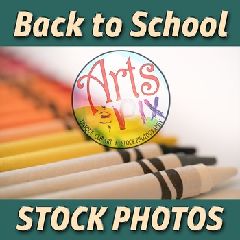 """""""Back to School"""" Photograph - Stock Photo of Crayons - arr"""