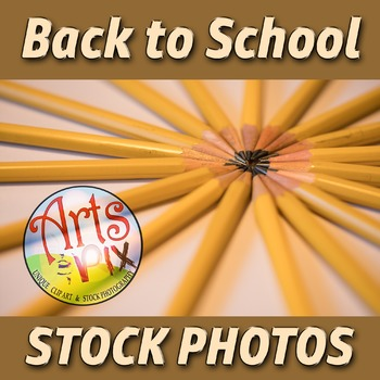 """Back to School"" Photograph - Title Background Stock Photo"