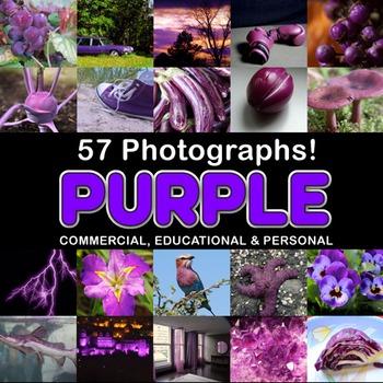 Photos Photographs PURPLE OBJECTS clip art