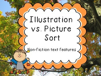 Photograph vs. Illustration sort (Non-fiction text features)