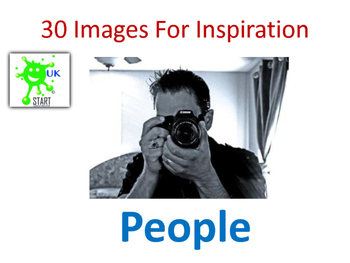 Photographs of People for Inspiration