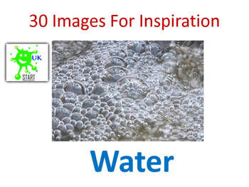 Photographs of Water for Inspiration