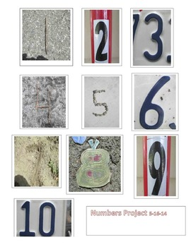 Photography Class Numbers Project for grades 9-12