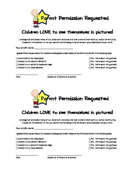 Photography and Social Media Permission Form