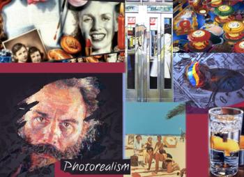 Photorealism Art History ~ FREE POSTER