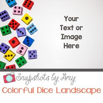 Photos: Colorful Dice
