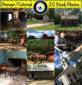 Stock Photos: Pioneer/ Revolutionary War Time Period Bundle