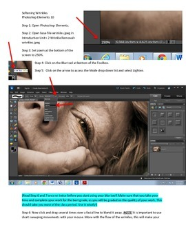 Photoshop Elements Intro Unit Lesson 2: How to Smooth and