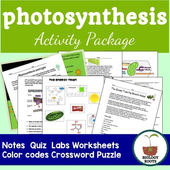 Photosynthesis Activity Package