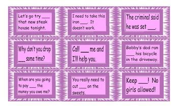 Phrasal Verb Cards 1
