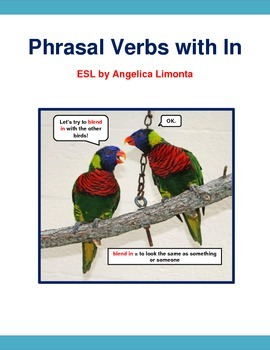 English Phrasal Verbs with In