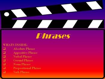 Phrases Power Point Presentation