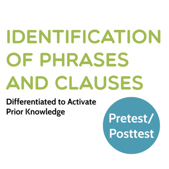 Grammar: Identification of Phrases and Clauses Differentia