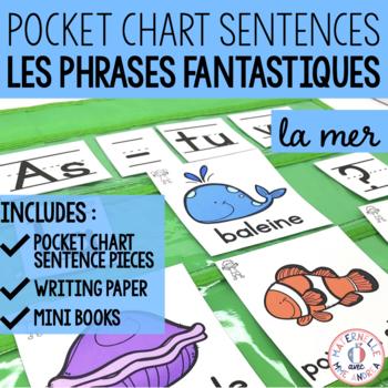 Phrases fantastiques - Sous la mer (FRENCH Ocean Pocket Ch