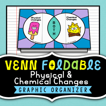 Physical & Chemical Changes {Venn Diagram Foldable} - Grea