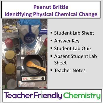 Chemistry Lab: Physical Chemical Chemical Changes of Peanu
