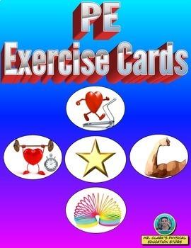 Physical Education Cards Bundled