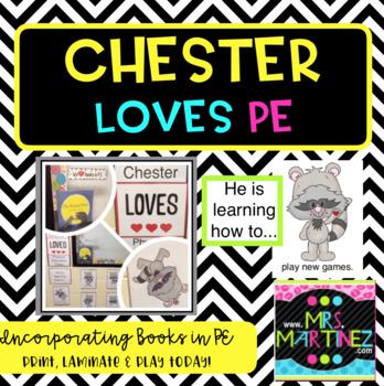 Physical Education: Chester LOVES PE Bulletin Board