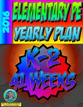 Physical Education K-2nd Grade Yearly Plan