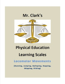 Physical Education Learning Scale Galloping