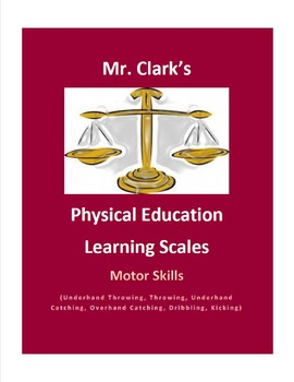 Physical Education Learning Scale Underhand Catching