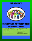 Elementary Physical Education Lesson Plans 2015-2016 2nd Edition