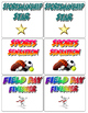 Physical Education Memory Match Cards