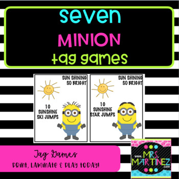 Physical Education: Seven Minion Tag Games
