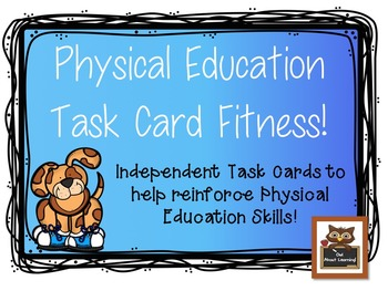 Physical Education Task Card Fitness 1