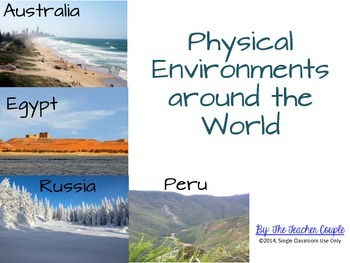 Physical Environments Around the World - Photo Sort