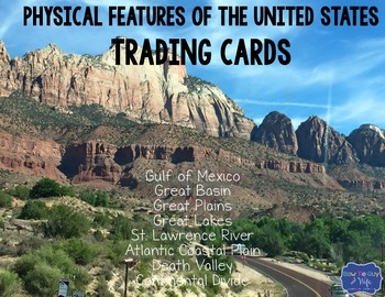 Physical Features Trading Cards