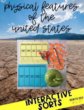 Physical Features of the United States {Interactive Notebo