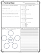 Physical Maps Diagram with Comprehension Questions