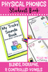 Physical Phonics (Blends & Digraphs) - Multi-Sensory Learning