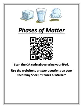 Physical Properties and QR Code - States of Matter Interac